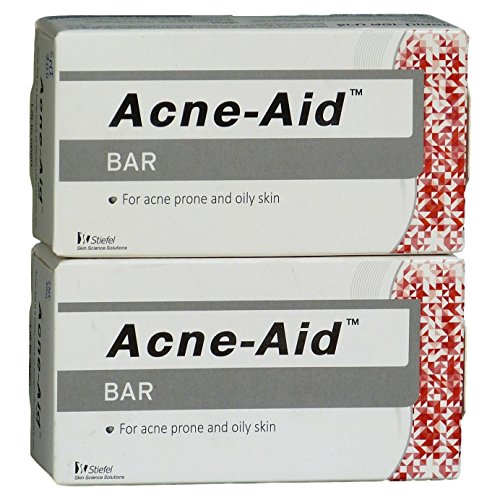 2 X 100g Stiefel Acne-aid Soap Bar Deep Pore Cleansing Pimple Oily Skin Face Aid