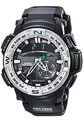 Casio Men's PRG-280-1CR PRO TREK Analog-Digital Display Quartz Black Watch