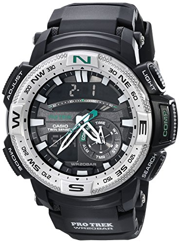 Casio PRG 280 1CR Analog Digital Display Quartz