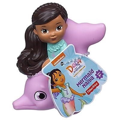 Fisher-Price Nickelodeon Dora & Friends, Bath Squirter - Mermaid Naiya: Toys & Games