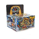 Pokemon Gold Ddakji Pasteboard Game with Bonus Cards : 24 Packs x 1 Case Set