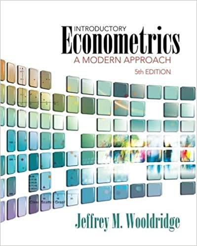 Introductory econometrics a modern approach upper level economics introductory econometrics a modern approach upper level economics titles 5th edition fandeluxe Gallery