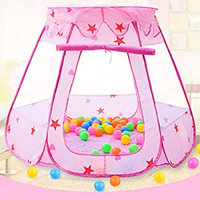 Coxeer Kids Play Tent Creative Foldable Funny Ball Tent Ball Pit Princess Tent Toy: Kitchen & Dining