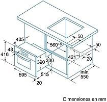 Balay 3HB540XM - Horno Compacto 3Hb540Xm Con Grill Eco: Amazon.es ...