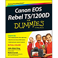 Canon EOS Rebel T5/1200D For Dummies (For Dummies Series) book cover