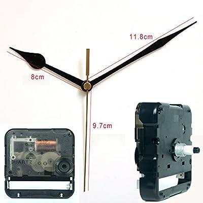 SKP Step Clock Movement quartz wall clock mechanism Centre Screw Parts and hands 17# for DIY clock Leap Second 42800N