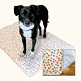 Washable Housebreaking Pad by PiddleWeePads. Reusable, Poochpads Replacement (Medium), My Pet Supplies