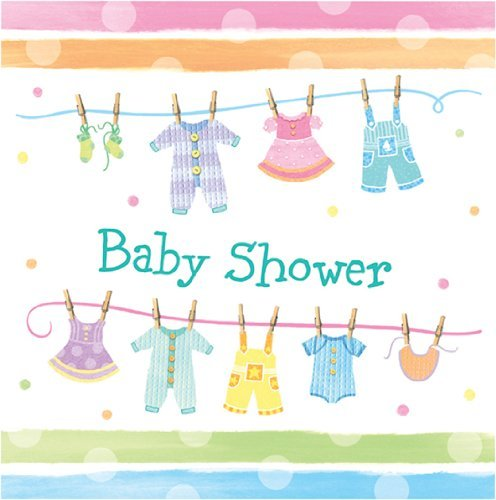 Baby Clothes Baby Shower - Baby Shower Party Napkins x -