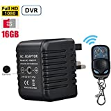 16GB Hidden Camera Spy Charger DVR 1080P Video Resolution Motion Activated AC Power Adapter 5.0 Mega 1080P Video and Audio Recording USB Power Charger Nanny Camera DVR