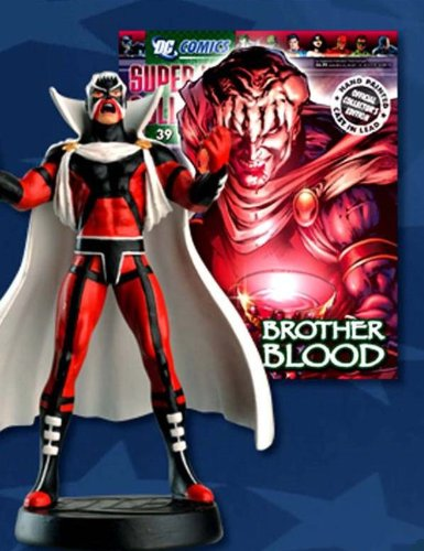 DC Superhero Figurine Collection #39 Brother Blood Eaglemoss