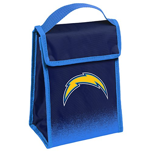 San Diego Chargers Gradient Velcro Lunch Bag (San Chargers Box Lunch Diego)