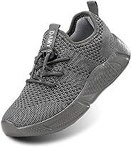 DaoLxi Kids Sneakers Boys Girls Running Walking Slip on Shoes Toddler Comfortable Lightweight Outdoor Athletic