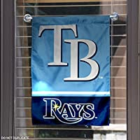 Tampa Bay Rays Double Sided Garden Flag