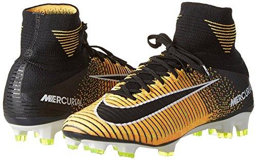 Nike Mercurial Superfly V (FG) Fußballschuh Laser Orange / Schwarz-Weiß-Volt