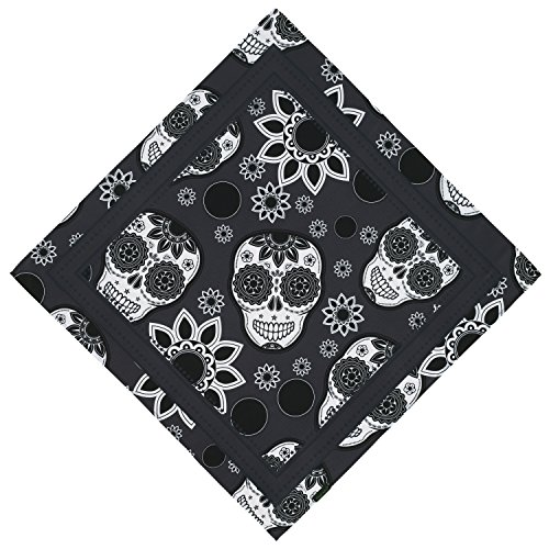 Bandana - Pirate Bandana Skull Cowboy Headband For Men Women, Not Fade(25