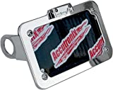 Accutronix Side Mount License Plate Assembly - Chrome LPF075HVC