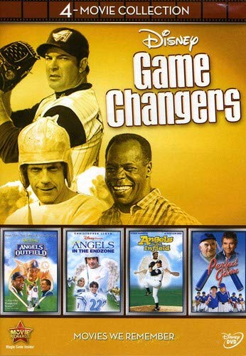 Disney Game Changers 4-Movie Collection (Angels in the Outfield / Angels in the Infield / Angels in the Endzone / Perfect Game) ()