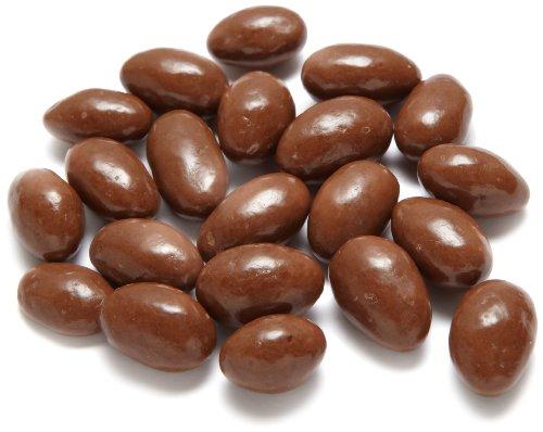 SunSpire Grain-Sweetened Milk Chocolate Almonds, 5 Pound (Chocolate Coated Almonds)
