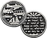 Traveler's Prayer Pocket Token with PJ Lamb Greeting Card