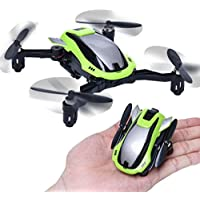 MOONHOUSE-MINI Pocket Foldable Transformable Drone,KAIDENG K100 With WIFI 0.3MP Camera Without remote control, FPV RC Quadcopter