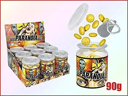 Paranoia Energy Drops – HIGH ENERGY con Taurina cafeína y vitaminas (B6 + B12)