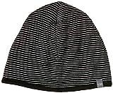 Icebreaker Merino Pocket Cold Weather Hats, One Size, Black/Snow/Black
