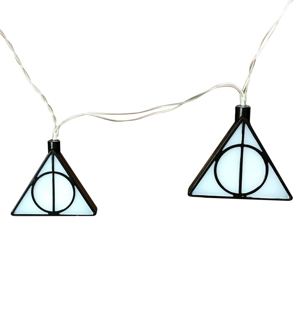 f96e1a5b95c0e Harry Potter Official Deathly Hallows 3D String Fairy Lights - Boxed
