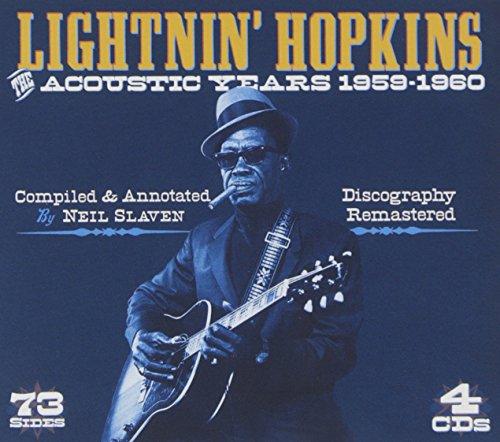 Lightnin Hopkins Black Cat Blues Album