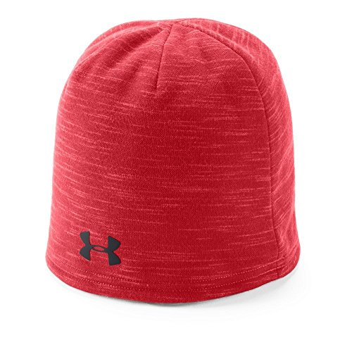 Under Armour Men's Storm Elements Beanie, Red (600)/Black, One Size Fits All