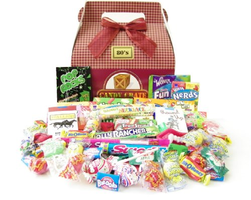 Candy Crate 1980's Retro Candy