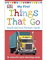 My First Things That Go (My First Touch and Feel Picture Cards)