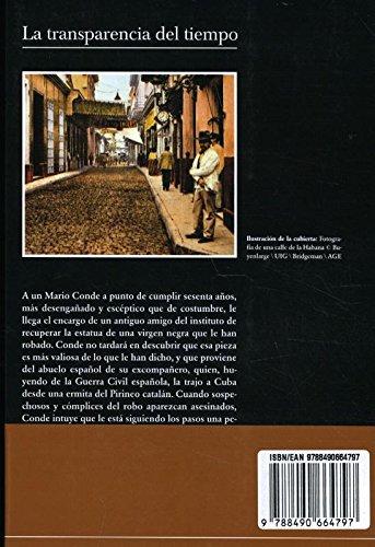 La transparencia del tiempo (Andanzas): Amazon.es: Padura ...