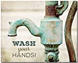 Wash Your Hands - Print for Kids Bathroom Wall Decor