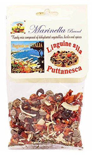 (Marinella Dehydrated Sauce Mixes, Spices and Herbs All Natural Imported From Italy (2 - Pack, Puttanesca Dried Sauce Mix))