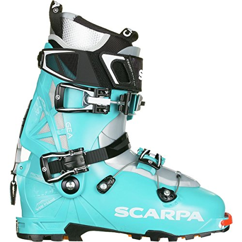 (SCARPA GEA Alpine Touring Boot - Women's Scuba Blue, 27.0)