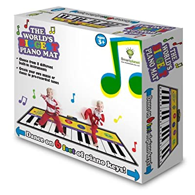 Smart Planet Piano Mat: Toys & Games