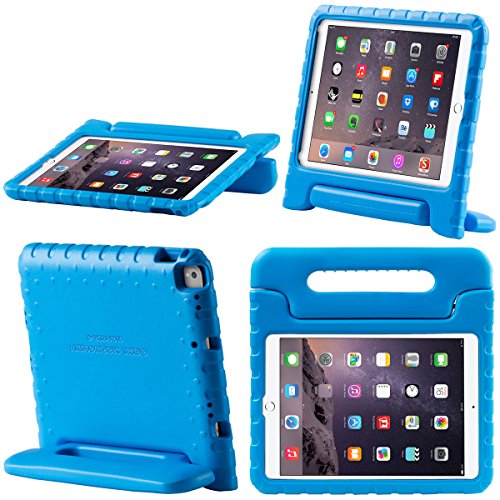 i-Blason New iPad Pro 10.5 2017 case, New Apple iPad Pro 10.5 inch 2017 Case for Kids [ArmorBox KIDO Series] Lightweight Super Protective Convertible Stand Cover (Blue)