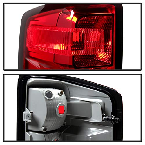 SPYDER 9031915 Xtune Alt-Jh-Cs14-Oe-L Chevy Silverado Left Driver Side Tail Light