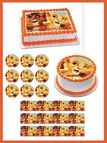 Lion-King-Kiara-Edible-Birthday-Cake-OR-Cupcake-Topper-2-cupcake-12-piecessheet-inches