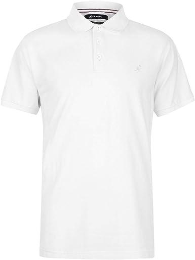 Kangol Brit Fit Polo Shirt Fashion Classic Casual Mens Gents