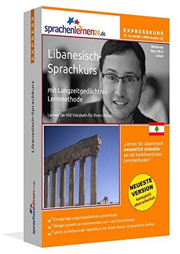 Sprachenlernen24.de Libanesisch-Express-Sprachkurs PC CD-ROM für Windows/Linux/Mac OS X + MP3-Audio-CD: Werden Sie in wenigen Tagen fit für Ihre Reise in den Libanon
