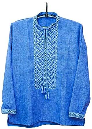 Ukrainian Embroidered Shirt, Sorochka for Men, Ethnic New