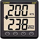 Clipper Duet Instrument Depth Speed Log w/Transducer