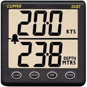 Clipper Duet Instrument Depth Speed Log w/Transducer Review