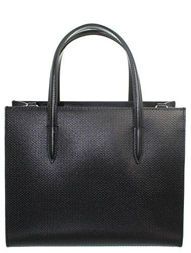 Shopper Sac pour Femme sac Lacoste Noir Z8nqH6q5x