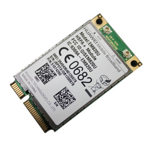 HuaWei EM820U 3G WCDMA GSM WWAN Mini PCI-E Card HSPA+ 21Mb (Unlocked)