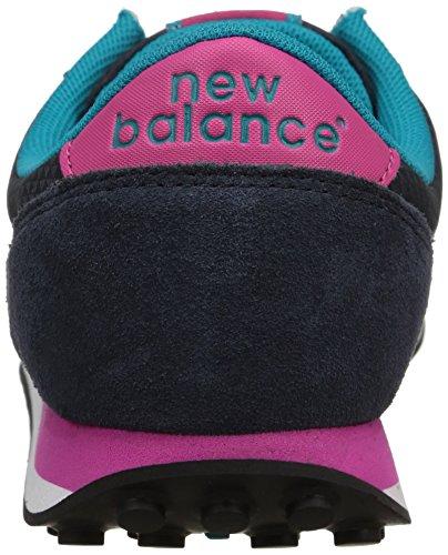 New Balance WL410 B - Zapatillas de Deporte de lona mujer azul - Bleu (Cpa Navy)