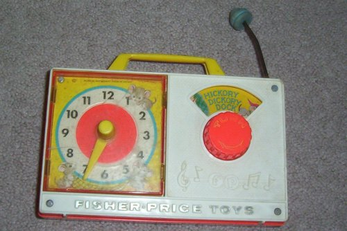 musical clock by fisher price - 5