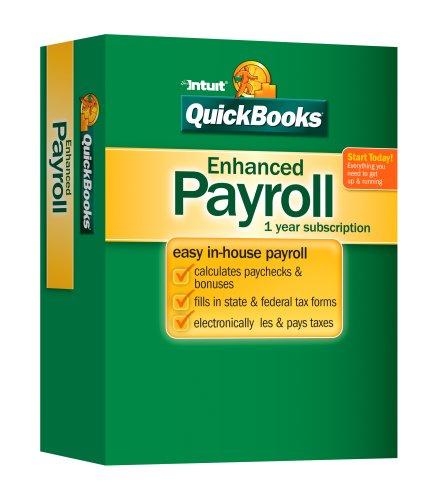 QuickBooks Enhanced Payroll OLDER VERSION