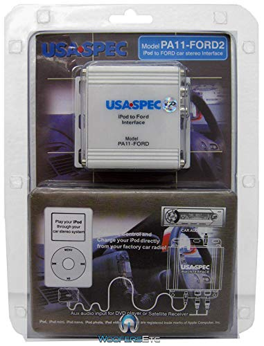 (USA SPEC (PA11FORD2) iPod to Factory Radio Wired Music Interface with AUX (RCA) Port)